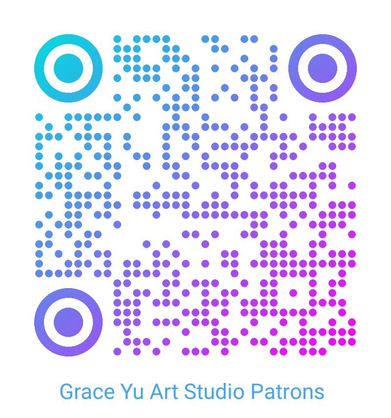 QR code for Grace Yu Art Studio Patreon account