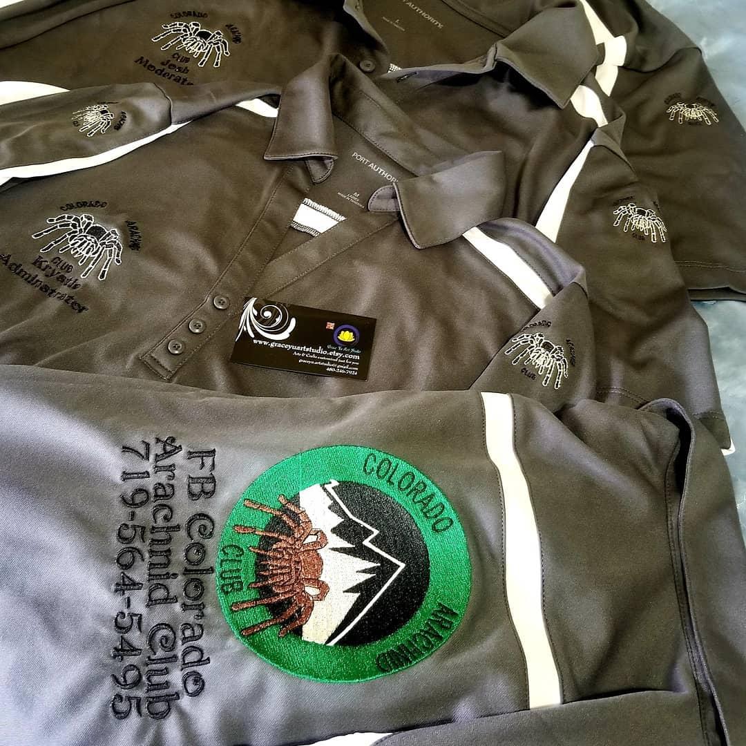 CAC logo emb staff shirts